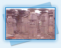 Thousand Pillar Temple-  Warangal