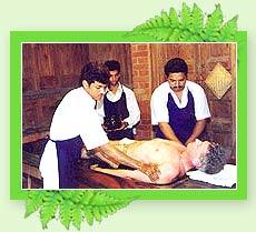 Pizhichil - Kerala Ayurveda