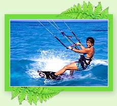Wind Surfing - Adventure in Kerala